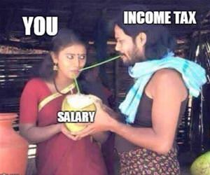 how taxes really work funny picture