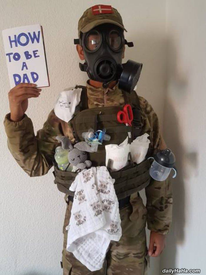 how to be a dad funny picture
