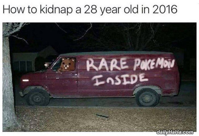 how to kidnap a 28 year old funny picture
