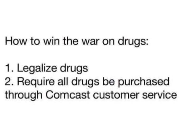 how to win war on drugs funny picture
