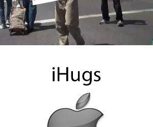 Free or Deluxe Hugs funny picture
