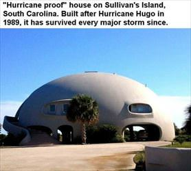 hurricane proof house