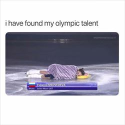 i found my olympic talent