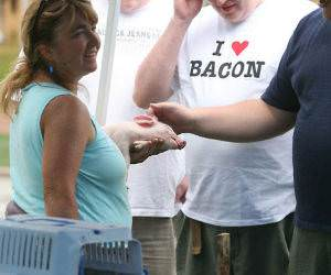 I Love Bacon funny picture