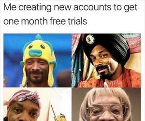i need a one month trial
