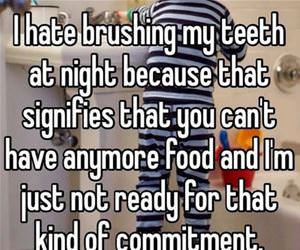 i hate brushing at night funny picture