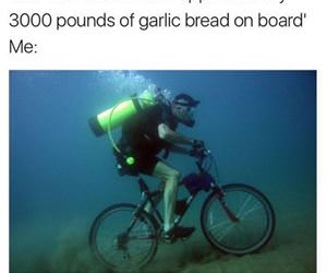 i love garlic bread funny picture