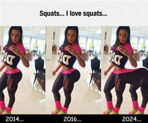i love squats funny picture