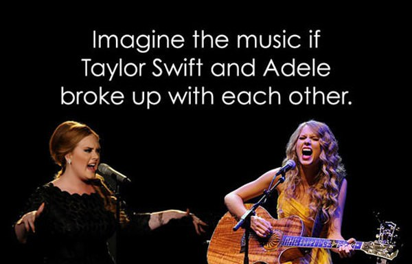 Imagine the music funny picture