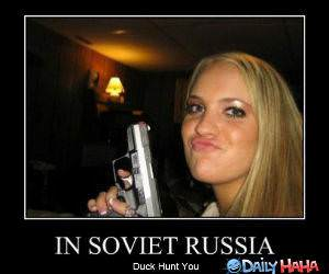 In Soviet Russia funny picture