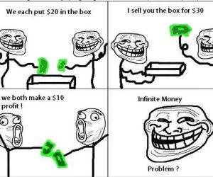 Infinite Money funny picture