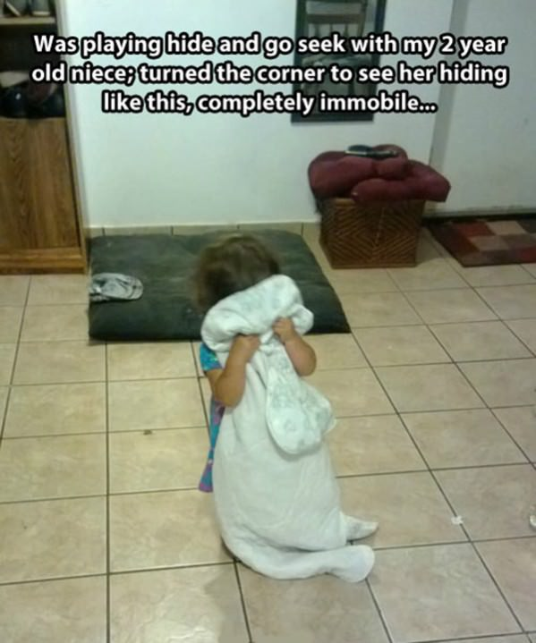 Intense Game of Hide and Seek funny picture