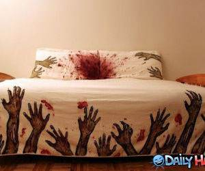 Dangerous Bed Set funny picture