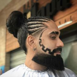 interesting hair  style