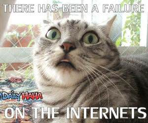 Internets failure