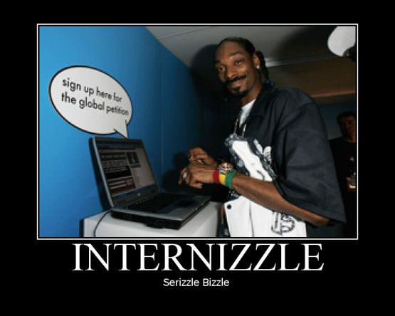 Internizzle by snoope dog.