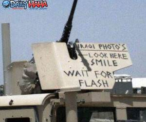 Iraqi photo booth