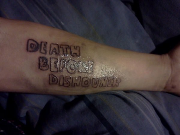 Ironic Tattoo funny picture
