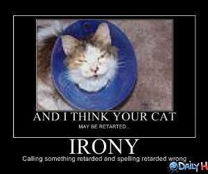 Irony funny picture