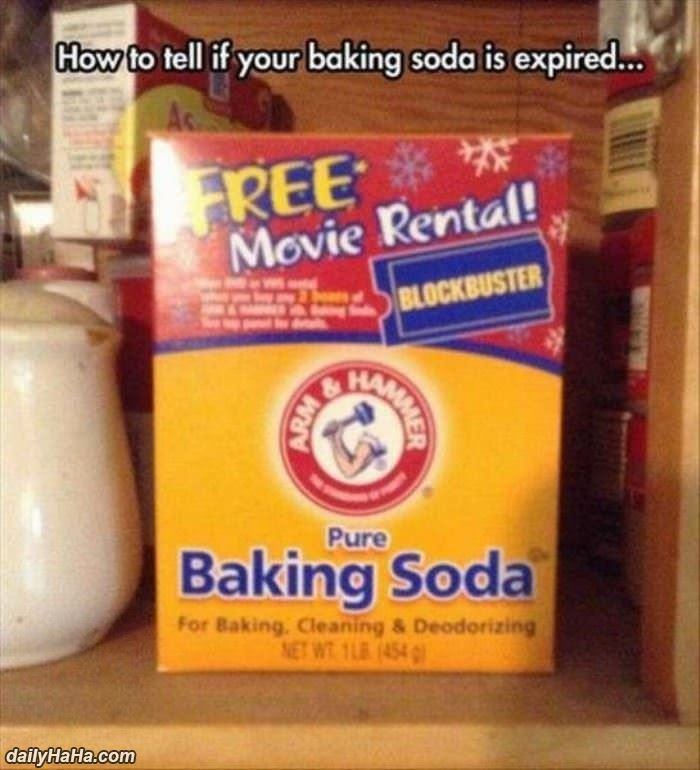 is the baking soda expired funny picture
