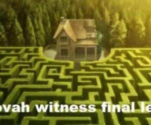 Jehovas Witness Test funny picture
