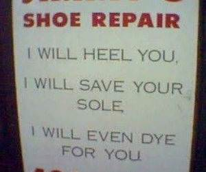 Jimmys Shoe Repair funny picture