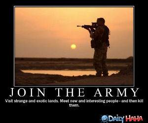 Join the Army funny picture