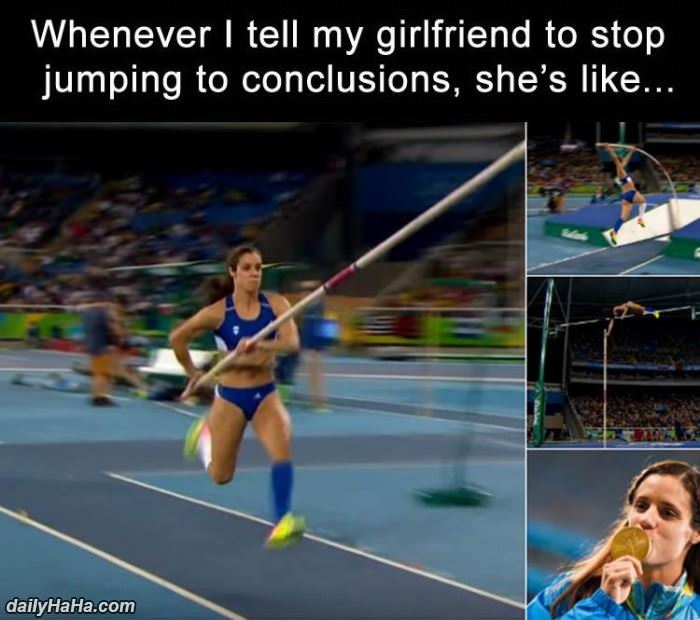 jumping to conclusions funny picture