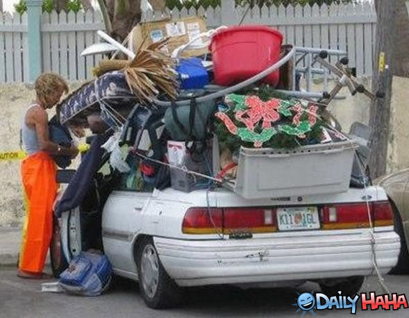 Junk Delivery Car
