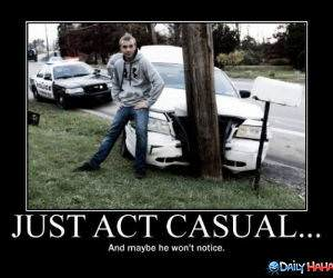 Act Natural funny picture