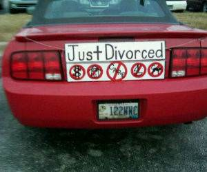 Just Divorced funny picture