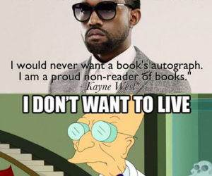 Non Reader of Books funny picture