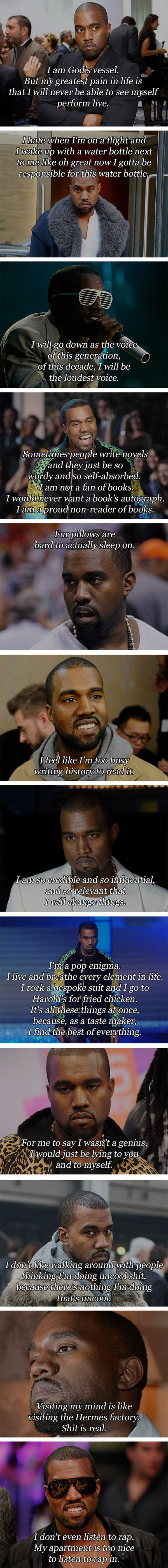 kanye quotes funny picture