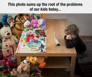 kids these days funny picture