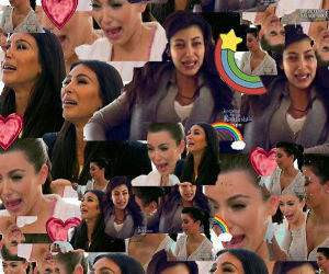 Kim Crying funny picture