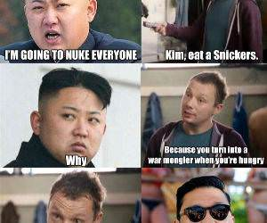 Kim Is Hungry funny picture