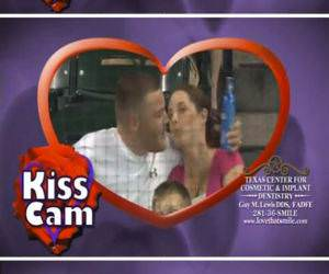 Kiss Cam funny picture