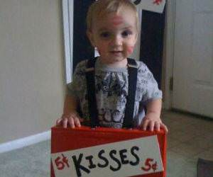 Free Baby Kisses funny picture
