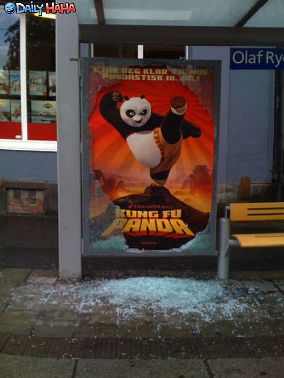 Kung Fu Panda Sign