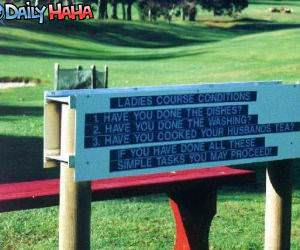 Ladies course Rules