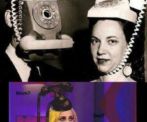 Lady Gagas Parents funny picture