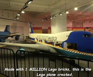 largest lego plane ever created