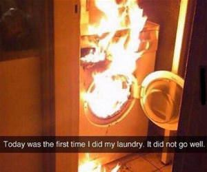 laundry day funny picture