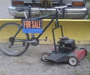 lawnmower for sale funny picture