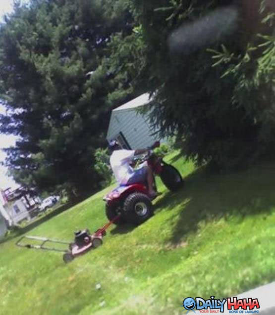 Lazy Lawn Mower