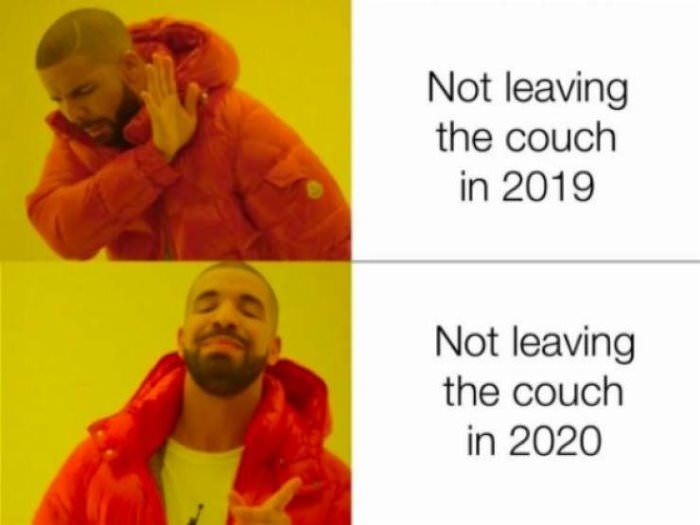 leaving the couch