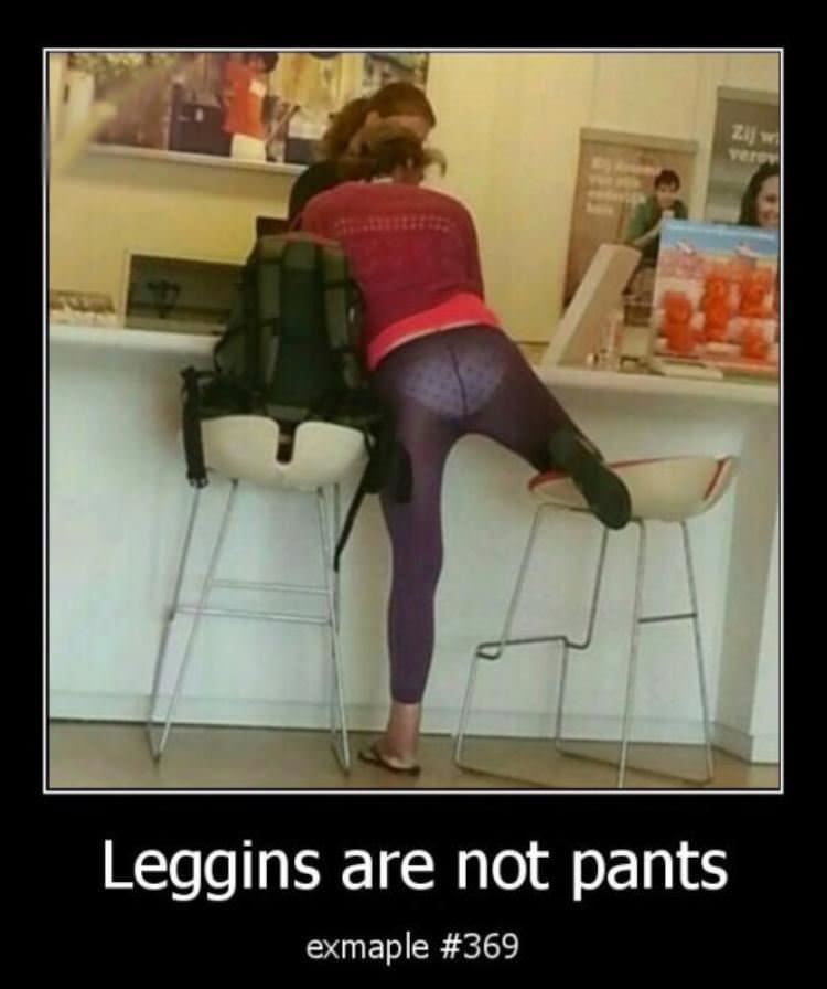 leggings are not pants funny picture