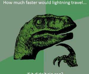 Lightning funny picture