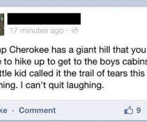 Trail of Tears funny picture