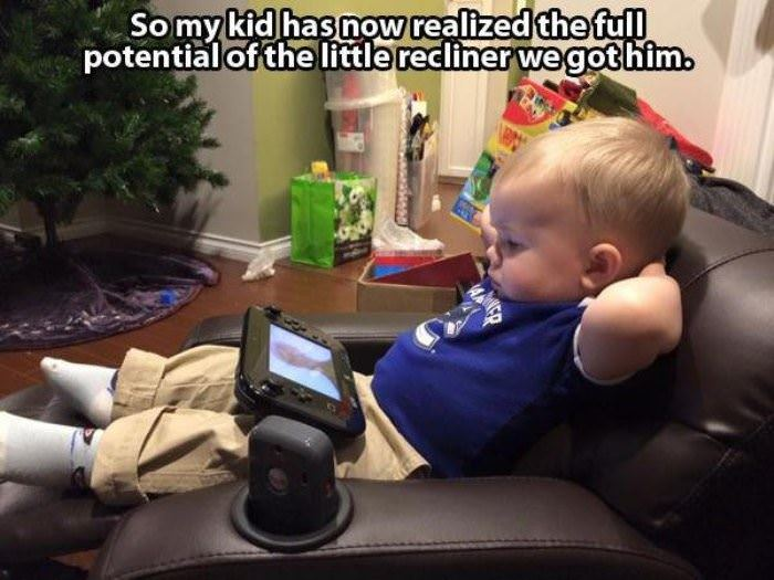 little recliner funny picture